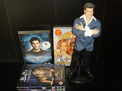 "Sideshow Angel Collectable 12"" Figure Plus DVD Boxset and more"