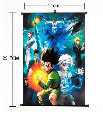 "Hot Japan Anime Hunter X Hunter Cosplay Home Decor Wall Scroll Poster 8""x12"" 018"
