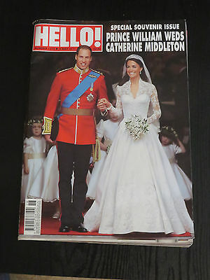 Hello Magazine 2011 Prince William and Kate Royal Wedding Special