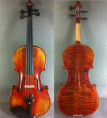 Beautiful Flamed Hand-Made&Varnished 4/4 (Antique) Violin / Great To Play