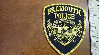 Falmouth   Massachusetts Police Department Obsolete Shoulder Patch Bx 10#20