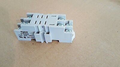 K10 relay sockets for dinrail with screw terminals 27E895 lot of 6 , NEW