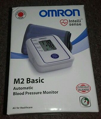 《 Omron M2 Basic Digital Automatic Upper Arm Blood Pressure Monitor - Boxed 》