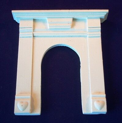 1/12th fireplace fire surround cast resin