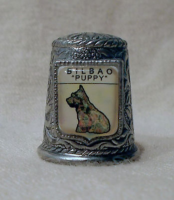 "Thimble - Pewter - Bilbao ""Puppy"""