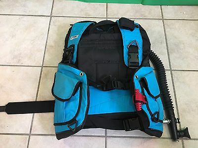 Zeagle Blue Scuba Diving Vest size SM