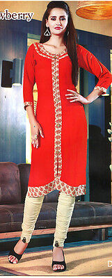 US Seller Indian Pakistani Kurta Kurti Women Ethnic Dress TopTunic Pakistani MXL