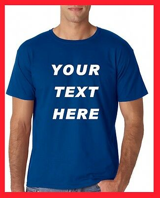 BUY Personalized T Shirts -print your TEXT, camisetas, Regular Sizes