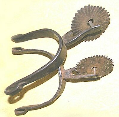 Beautiful Vintage Old West Relic Antique Matching Spurs
