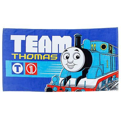 Official Thomas And Friends Team Childrens Towel 100% Cotton Free P+P New