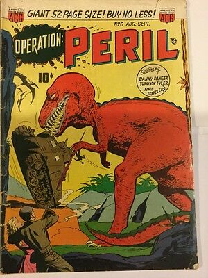 Operation Peril #6 August 1951