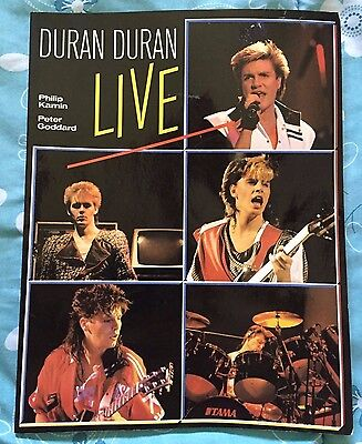 Duran Duran LIVE Picture Papaerback Book - 1984 by Philip Kamin & Peter Goddard