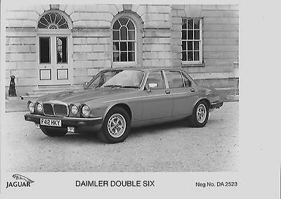 'f' Registered Daimler  Double Six Press Photo 'brochure Connected '