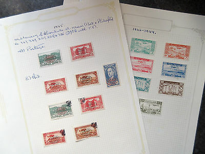 Syria 1945-49 Postage & Airmail Issues.Mint & Used.