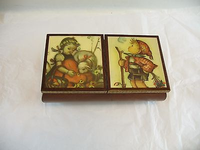 Reuge Music box trinket box for parts or repair does not play