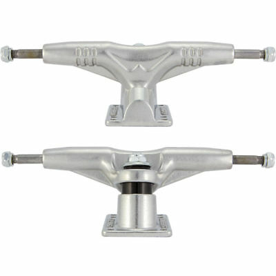 "Gullwing Pro Iii Skateboard Trucks 9"" Silver Set Of 2 Trucks"