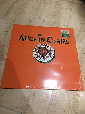 """Alice in Chains Would 12"""" Green Vinyl. Still Sealed In Original Cellophane"""