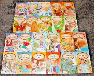 LADYBIRD FAVOURITE TALES * Matching Set of 10 Boardback Books