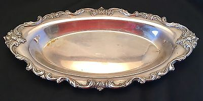 Vintage Du Barry Webster Wilcox I S International Silver Relish Tray SilverPlate