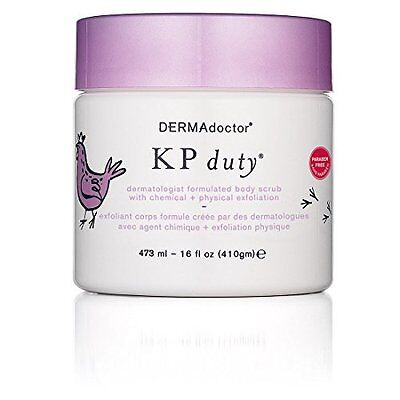 KP Duty Bestselling Body Scrub With Chemical Plus Physical Exfoliation - 16 oz