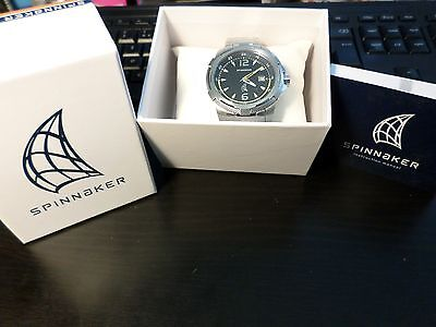Spinnaker Rope Sp-5002-11 Men's Solid Stainless Steel Watch