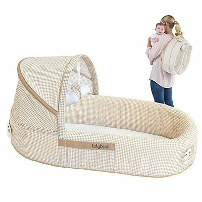 Baby Lounge To Go Travel Bed - Infant Travel Bed / Cozy And Safe By Lulyboo