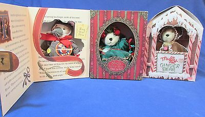Three Muffys – Firtree – Gingerbear – Mouse – Limited Edit- NRFB
