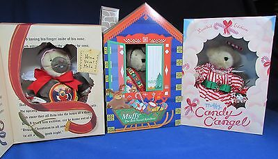 Three Muffys – Candy C'Angel – Red-Nosed Reinbear – Mouse – Limited Edit- NRFB