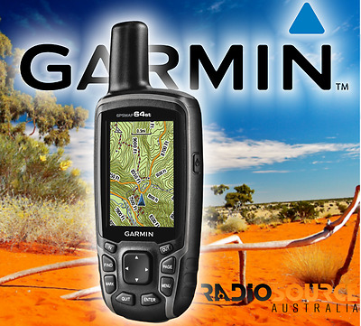 Garmin GPSMAP 64ST Handheld GPS (GPSMAP64ST) with GEN GARMIN WARRANTY