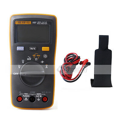 Fluke 107 AC/DC Current Digital Multimeter Magnetic meter UK Stock