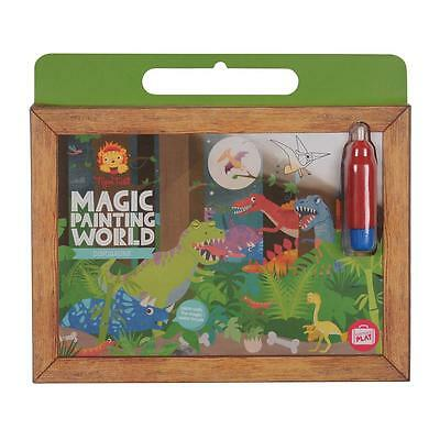 NEW Tiger Tribe Painting World - Dinosaurs - Kids Magic Water Paint Set