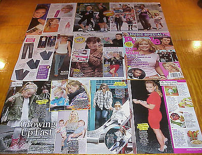 HILARY DUFF CLIPPINGS #5 LIZZIE McGUIRE STAR #112716