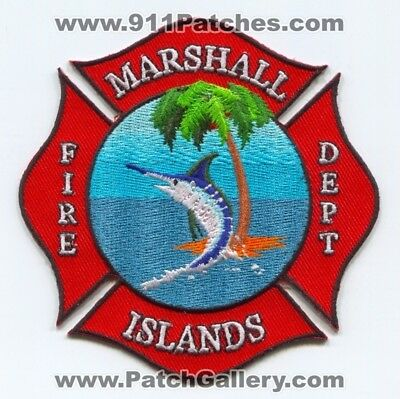 Marshall Islands - Marshall Islands Fire Department Patch