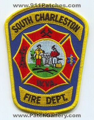 South Charleston Fire Department Patch West Virginia WV