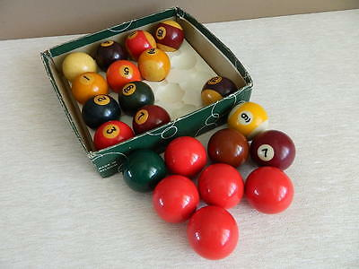 Spare Snooker Pool Billiard Balls Selling Single Balls Pictured, Price is for 1