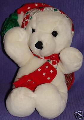 "Dakin Vintage 1979, 1986 White Bear 15"" Large ~ Bj15"