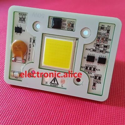 New AC 170-300V 220V High Power 50W led chip built-in driver cool white led lamp