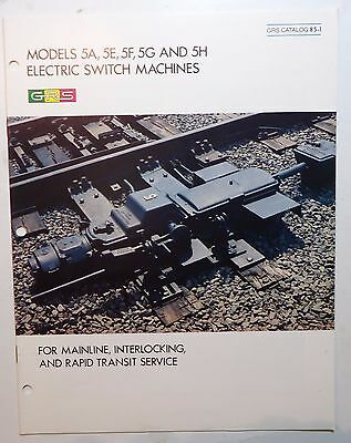 GRS General Railway Signal Brochure - Catalogue - Electric Switch Machines - (3)