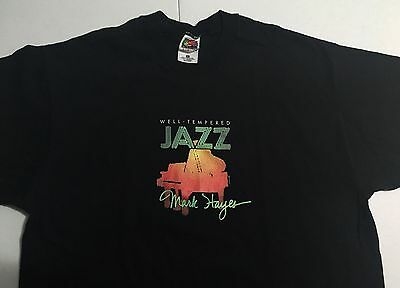 Well-Tempered Jazz Piano Solos by Mark Hayes T-Shirt Adult Size Extra Large XL