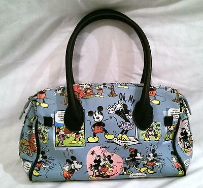 Official Rare Disney Vintage Micky & Minnie Mouse Cartoon Character Handbag