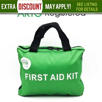 210pcs ARTG Registered First Aid Kit Family Office Car Camping Outdoor Boat AU