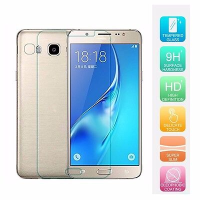 Real 100% 9H Tempered Clear Hardness HD Screen Protector For Samsung J5(2016)