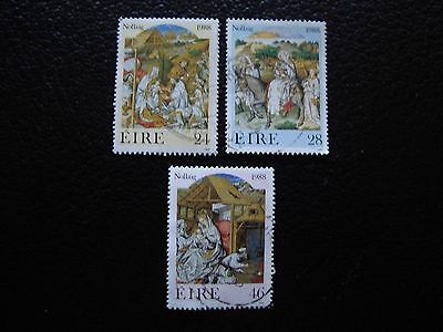 IRLANDE - timbre yvert et tellier n° 668 669 670 obl (A32) stamp ireland