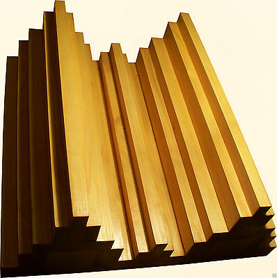 Sound Diffuser Solid Wood Music Studio Acoustic Diffusion