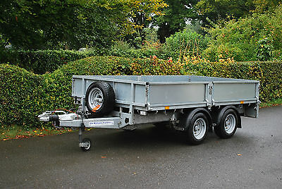 """Ifor Williams LM105 10ft x 5ft 6"""" Flatbed Trailer, Fully Serviced with warranty"""