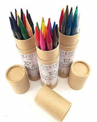 Ashleigh Nicole Arts Woodless Coloured Pencils Set-36 Piece Art Supplies