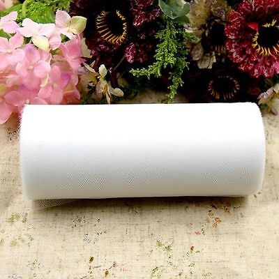 Party Bridal Wrap Fabric Tulle Roll Spool Wedding Craft Gift Decoration