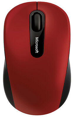 Microsoft Bluetooth Mobile Mouse 3600 Red PN7-00014 MICROSOFT