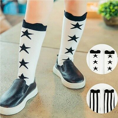 Japanese Style High Socks Baby Kids Toddlers Knee High Socks For Age 1-4 Years