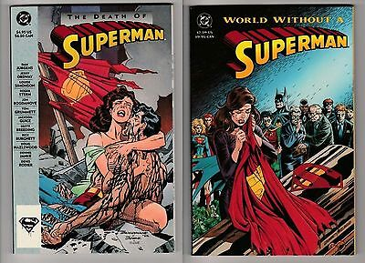 The Death of Superman & World without a Superman TPB